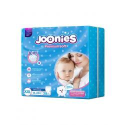 Подгузники-трусики JOONIES размер XXL вес 15-20 кг, 28 шт