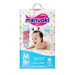 Подгузники-трусики Manuoki M (6-11 кг) 56  шт
