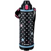 Термос спортивный Tiger MBO-E100 Blue Flower, 1,0 л