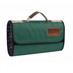 Плед для пикника CW Soft Blanket цвет - зеленый в клетку