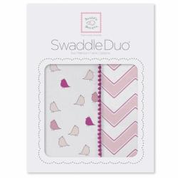 Набор пеленок SwaddleDesigns Swaddle Duo PK Chickies/Chevron