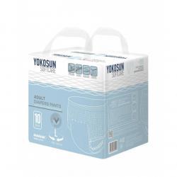 YokoSun Подгузники-трусики для взрослых L, 10 шт