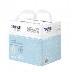 YokoSun Подгузники-трусики для взрослых XL, 10 шт